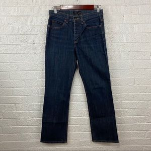 J Crew straight leg button fly jeans 4/30